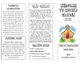 Open House/Back to School Brochure
