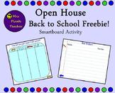 Open House/Back to School Freebie!