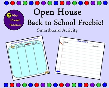 Open House/Back to School Freebie!