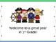 Open House/Back to School PowerPoint Presentation Pirate Theme