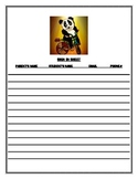 Open House/Meet the Teacher Sign in Sheet