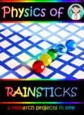 2 level of physics PBL: build your rainstick and be challenged + printables
