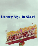 Open Library Sign in Sheet