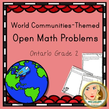 Open Math Problems - Global Communities - Ontario Grade 2