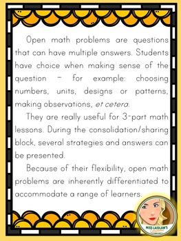 Open Math Problems - Simple Machines - Ontario Grade 2