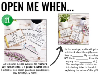 Mother's Day + Father's Day Gift [Open Me When...]