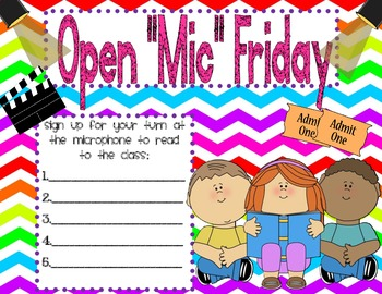 """Open """"Mic"""" Fridays - Microphone"""