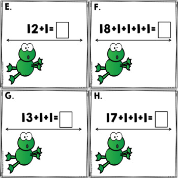 Open Number Line: A Write The Room Activity