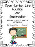 Open Number Line Addition and Subtraction