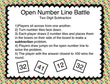 Open Number Line Battle