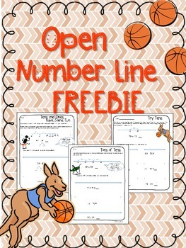 Open Number Line Practice Freebie