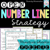 Open Number Line Strategy Freebie