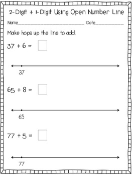 Amazing image for open number line printable