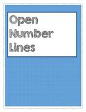 Open Number Lines