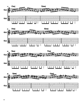Open Position Major Scales on Guitar