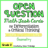 Open Question / Open Response Math Task Cards {Geometry}