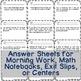 Open Question / Open Response Math Cards {Measurement & Data}