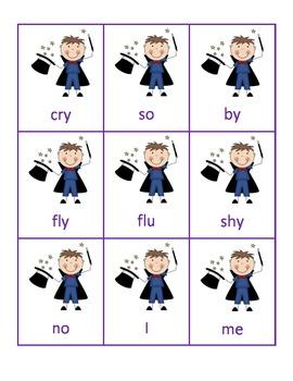 Open Sesame - An Activity for Reading Open Syllables