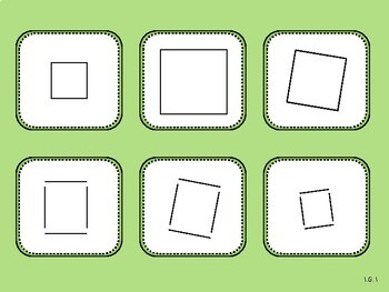 Open Shape, Closed Shape Sort Game (First Grade, 1.G.1)