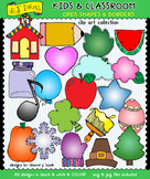 Open Shapes and Borders - Kids and Classroom Clip Art Download