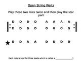 Open String Waltz