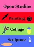 Open Studios -  Signs for Choice Based Art