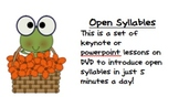 Open Syllabes in just 5 Minutes a Day