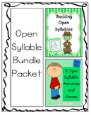 Open Syllable Bundle Packet