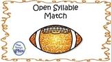 Open Syllable Football Match