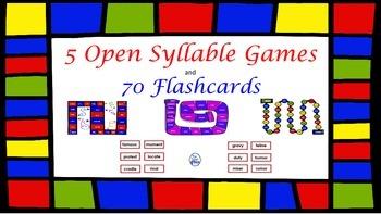 Open Syllable Games