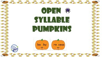 Open Syllable Pumpkins