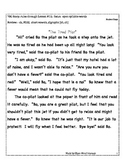 Open Syllable Reading Passage:  Fluency Practice + Running Record