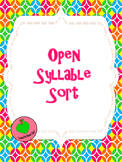 Open Syllable Sort