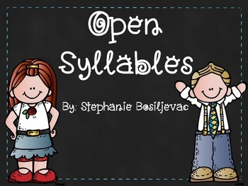Open Syllables