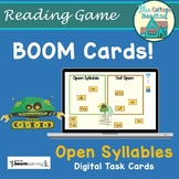 Open Syllables BOOM Cards Distance Learning