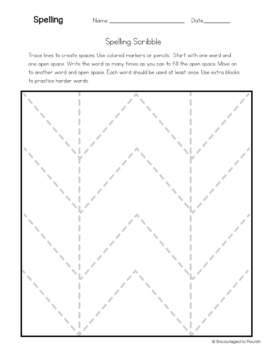 Open Syllables Ending in Y = Long E - Spelling - Lists, Games, Activities