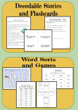 Open Syllables: Orton Gillingham Complete Curriculum Unit 6