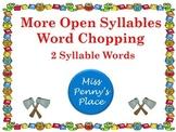Open Syllables - Set 2