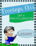 Open Syllables in 1 syllable words, Y as a vowel Orton Gillingham Lesson