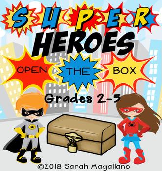 Open The Box--Superheroes