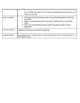 Open Up Resource: Unit 1 Lesson 11 Plan