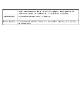 Open Up Resource: Unit 1 Lesson 4 Plan