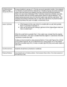 Open Up Resource: Unit 1 Lesson 5 Plan