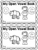 Open Vowel Writing Book