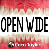 Open Wide Dental Unit for Primary Learners (Based on Book