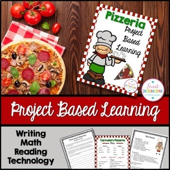 PROJECT BASED LEARNING MATH: OPEN A PIZZERIA Writing, and Technology