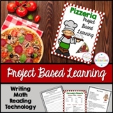 PROJECT BASED LEARNING MATH: OPEN A PIZZERIA Writing, and
