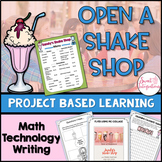 Open a Shake Shop Business | Project Based Learning Activi