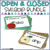 Open and Closed Syllable Activities