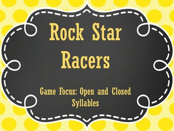 Open and Closed Syllable Game